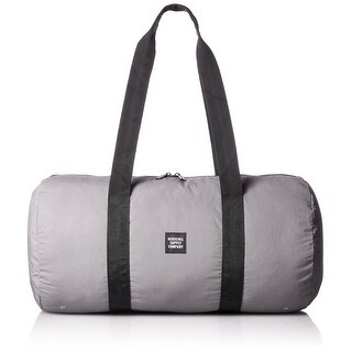 Herschel Supply Co. NEW Gray Men One Size Packable Reflective Duffle Bag
