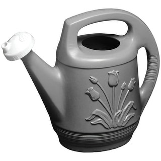 Bloem T6213-60 Peppercorn Promo Watering Can with Rotating Nozzle, 2 Gallon