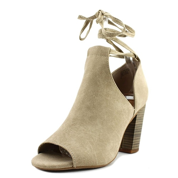BC Footwear Set Me Free Taupe Boots