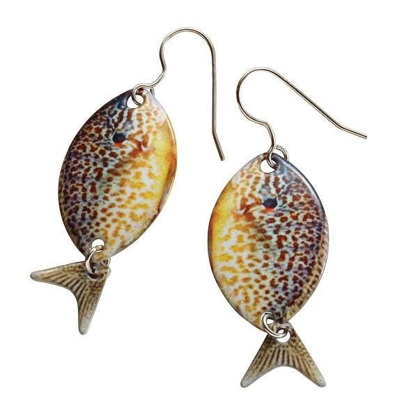 e7008e8db78 Shop D Ears Women s Sunfish Earrings - Stainless Steel -Sterling ...