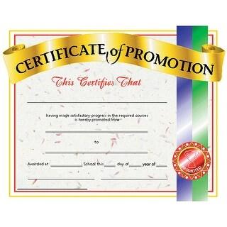 (6 Pk) Certificates Of Promotion 30 Per Pk 8.5 X 11