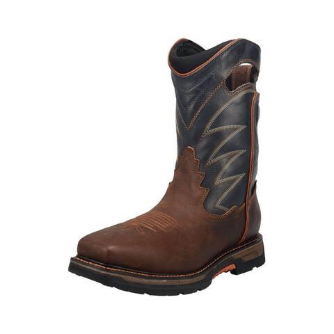 Dan Post Western Boots Mens Thunderhead Waterproof Gray