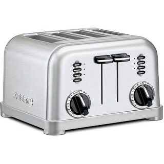Refurbished Cuisinart Toaster Cuisinart Brushed Crome 4 Slice Toaster Nic