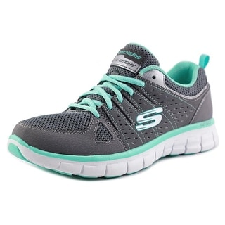 Skechers Synergy Look Book   Round Toe Leather  Sneakers