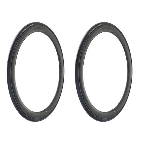 Hutchinson FUSION 5 Tubeless Ready Bike Tires, 2-Pack, 700x25 - 700 x 25c
