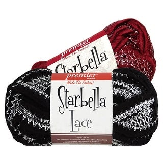 Starbella Lace Yarn Knitting Crochet Premier Polyester Scarves Trimming