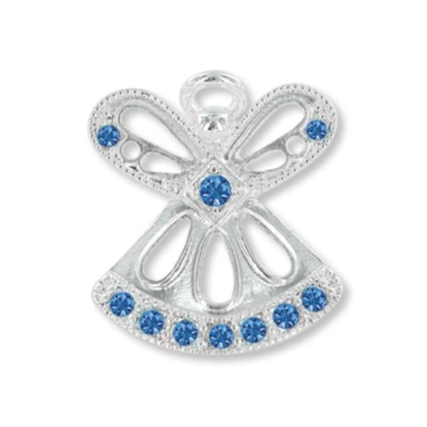 Ddi Wings And Wishes September Birthstone Angel (pack Of 28)
