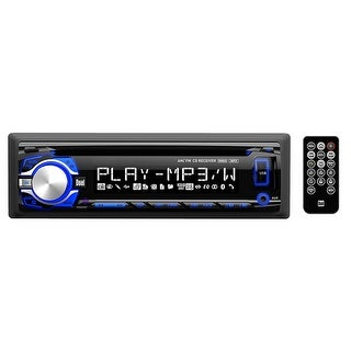 """Dual Cd/Mp3 Player With Charging Usb 3.5Mm Aux And 3.7"""" Lcd"""
