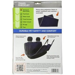 Petmate Water Resistent Hammock Car Seat Cover