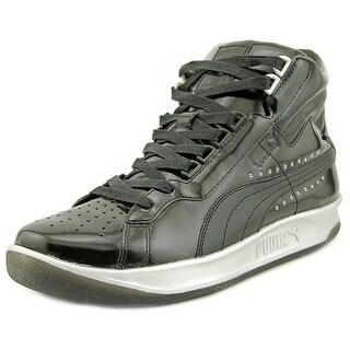 Puma PumaxMeeksxSilver Challenge Round Toe Patent Leather Basketball Shoe