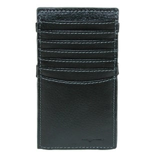 Buxton Walton Leather RFID Protected Phone Sleeve with Card Slots - One size (Option: Grey)