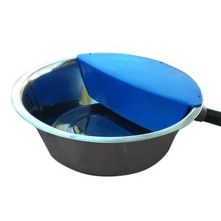 "RPI Sir Aqua II Automatic Float Waterer 1.8 gallon Silver / Blue 13.5"" x 13.5"" x 4.5"""