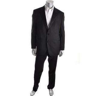 BOSS Hugo Boss Mens The Stars75/Glamour3 Virgin Wool Satin Trim Tuxedo