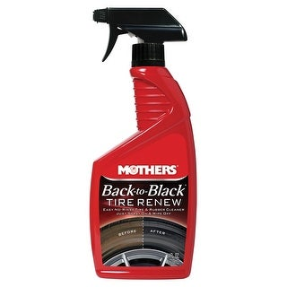 Mothers Back-to-Black Tire Renew - 24oz - *Case of 6*