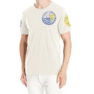 Buffalo David Bitton NEW White Ivory Men's Size XL Nasavu Tee T-Shirt