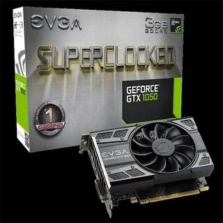 EVGA GTX 1050 SC Gaming 3GB GDDR5 DVI HDMI Displayport PCI-Express