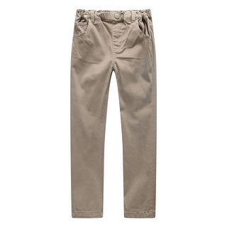 Richie House Girls' Leisure Pants with Elastic Waistband