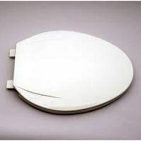 Mintcraft CS02-W3L Plastic Elongated Toilet Seat, White