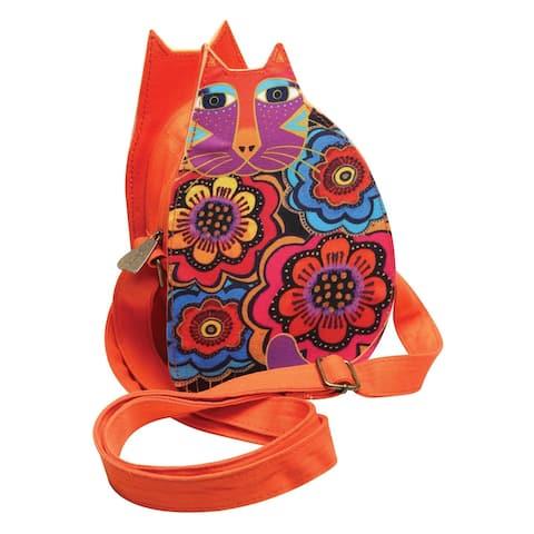 Sun N Sand Accessories Women's Laurel Burch Cat Purse - Orange Crossbo - One size