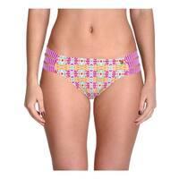 Raisins Womens Juniors Cocoa Beach Printed Strappy Swim Bottom Separates