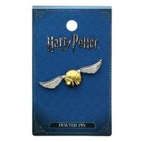 Harry Potter Golden Snitch Pewter Lapel Pin - multi