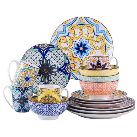 vancasso BoHo Porcelain Dinnerware Set (Service for 4)