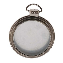 Tim Holtz Idea-ology Embellishments - 2 1/2 Inch Pocket Watch Frame
