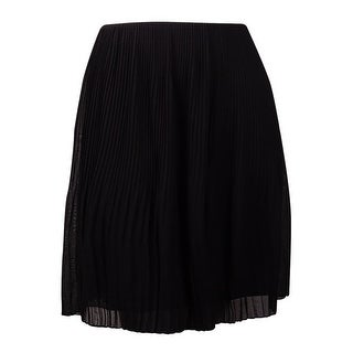 Alfani Women's Pleated Chiffon A-Line Skirt