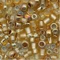Toho Multi-Shape Glass Beads 'Kintaro' Gold Color Mix 8 Gram Tube - Thumbnail 0