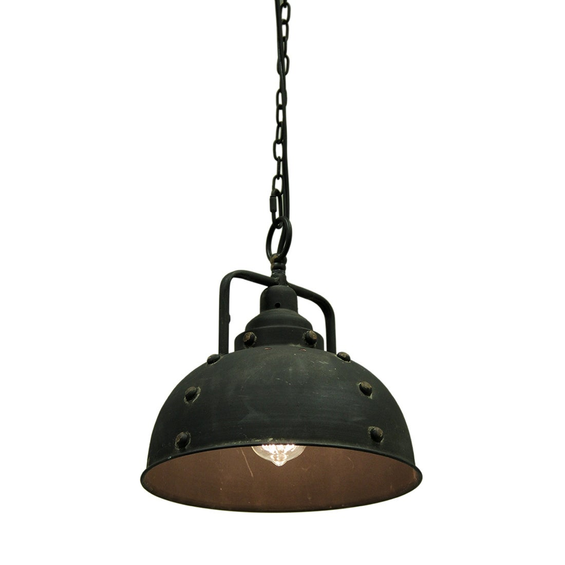Shop Black Friday Deals On 84 Inch Chain Industrial Pendant Light Rustic Metal Farmhouse Hanging Wired Fixture Antique Lamp 11 5 X 11 X 11 Inches On Sale Overstock 16751579