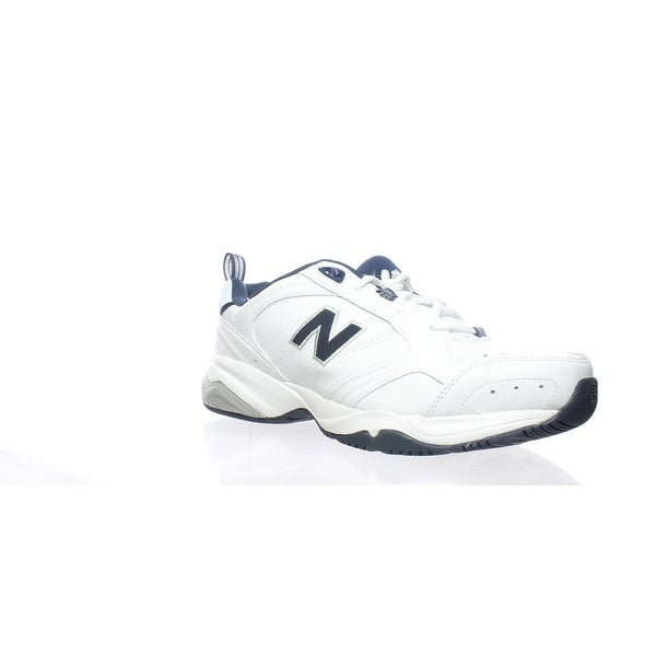 98aed354b0a Shop New Balance Mens Mx624wn2 White/Navy Cross Training Shoes Size ...