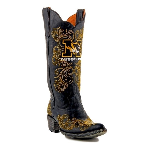 Gameday Boots Womens College Team Missouri Tigers Black