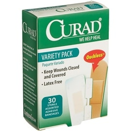 Curad 30Ct Variety Bandage