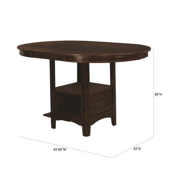 Copper Grove Noord Transitional 5-piece Counter-height Dining Set