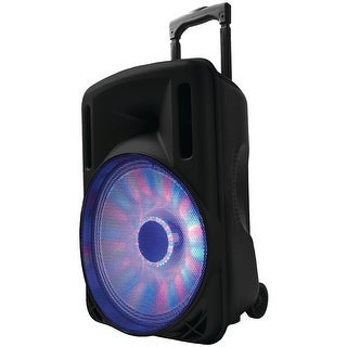 "Supersonic 12"" Portable Bluetooth Dj Speaker (black)"