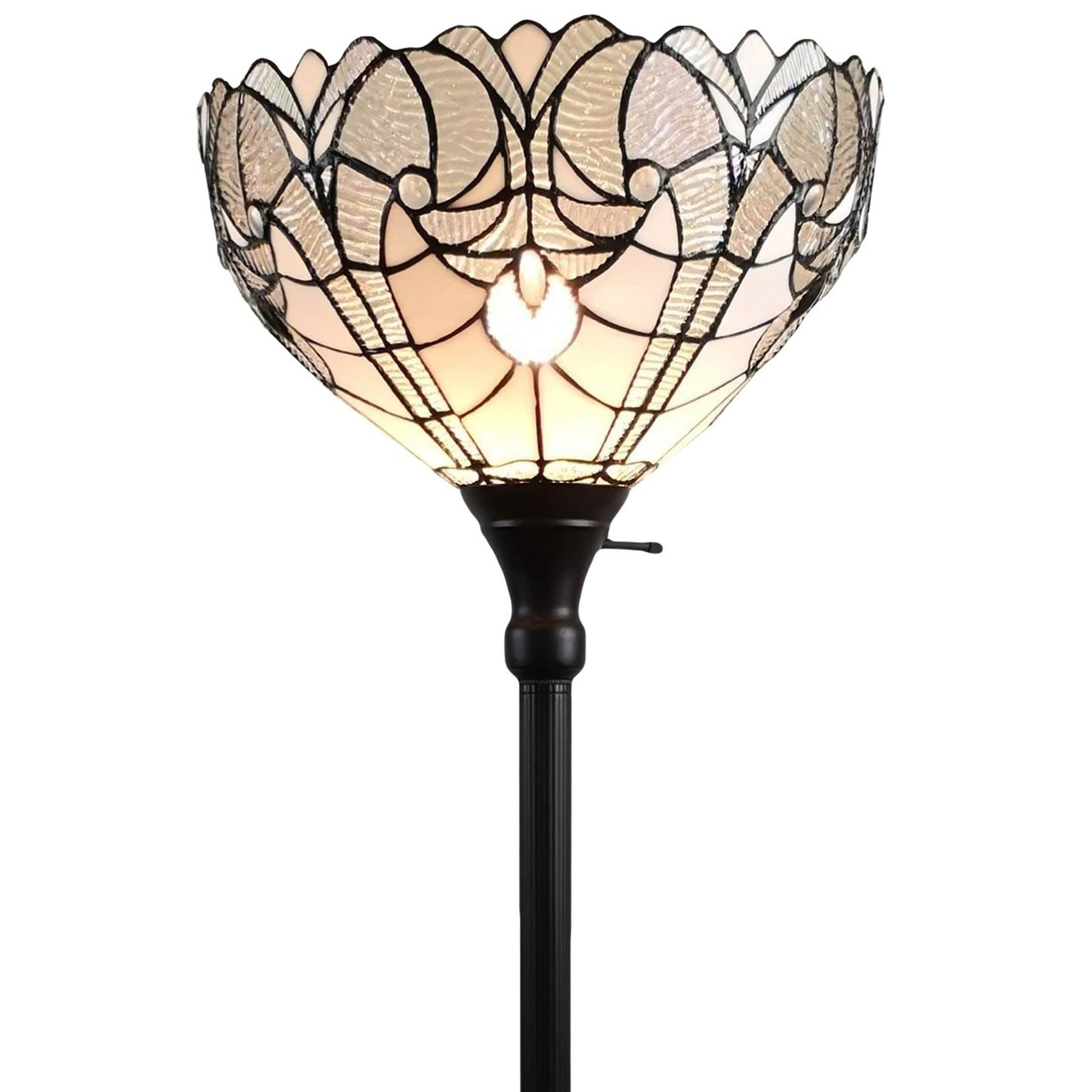 Tiffany Style Floor Lamp Torchiere