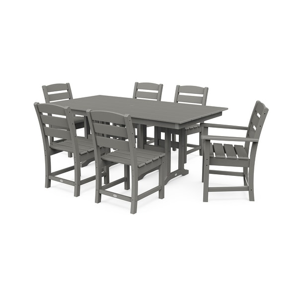 Polywood Lakeside 7-Piece Farmhouse Dining Set. Opens flyout.