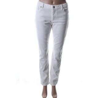 Michael Kors Womens Skinny Jeans Denim Low-Rise - 16