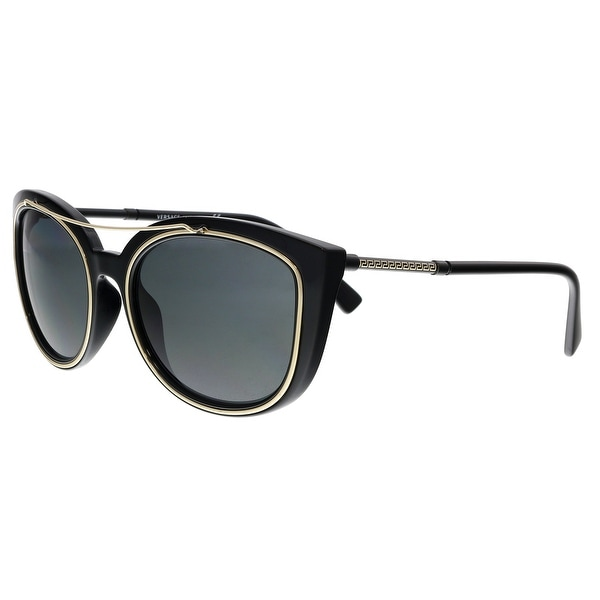 8f90969e0b5 Versace VE4336 GB1 87 Black Cat Eye Sunglasses - No Size. Click to Zoom