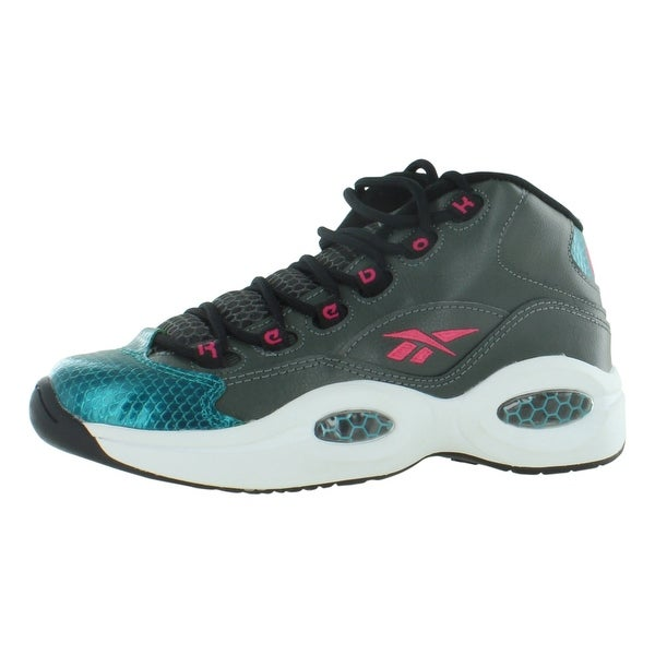72481ef5bb8 Shop Reebok Question Mid Gradeschool Kid s Shoes - Free Shipping ...