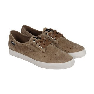 HUF Sutter Mens Tan Suede Lace Up Sneakers Shoes