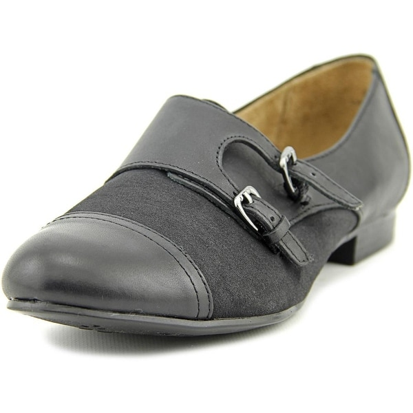 Naturalizer Learner Women  Round Toe Leather Black Loafer