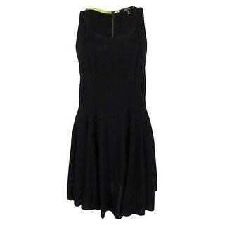 Be Bop Juniors' Sleeveless Dress XS, Black - XS