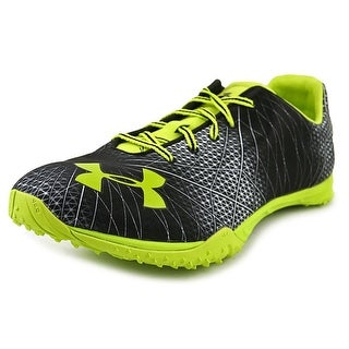 Under Armour Combine Trainer 2012 Men Round Toe Synthetic Black Cleats