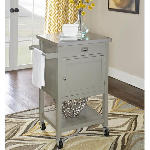 Julianna Grey Apartment Cart