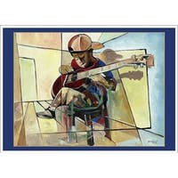 ''The Little Musician'' by Nathaniel Barnes Magnets Art Print (2.875 x 4 in.)