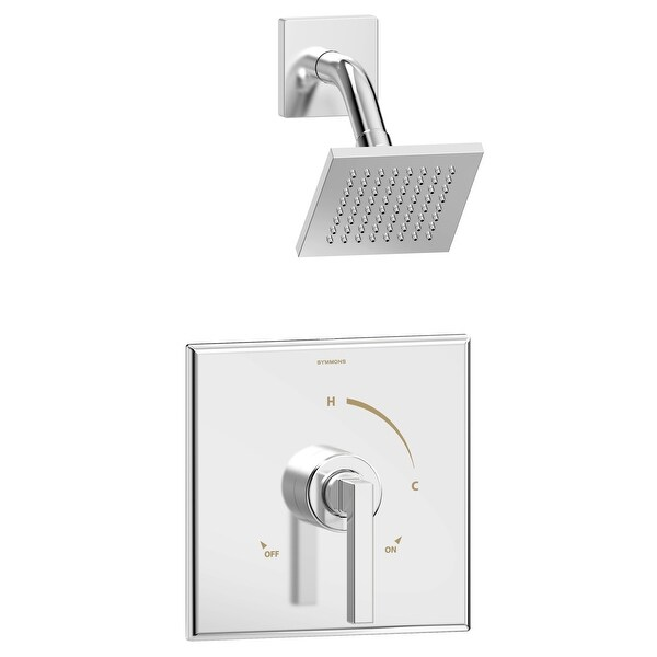 Symmons 3601-SH4-1.5-TRM Duro Shower Only Trim Package with 1.5 GPM Single Function Shower Head