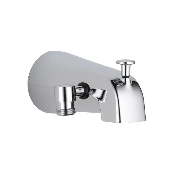 """Delta U1072-PK 5-1/4"""" Diverter Wall Mounted Tub Spout with Hand Shower Connection - Chrome"""