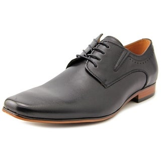 Aldo Galesian Men  Square Toe Leather Black Oxford