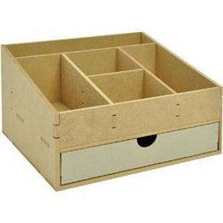 """11.5""""X9.75""""X6.5"""" - Beyond The Page Mdf Scrapping Organizer"""